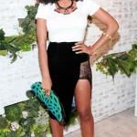 Pretty Hot..or Pretty Not: Solange Knowles in Black Velvet Maki oh Skirt