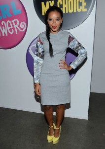 Fresh On The Scene: Angela Simmons,Solange Knowles,Tika Sumpter, and other celebs Take Over Fashion Week 2012