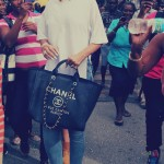 Rihanna was spotted Holiday shopping in Barbados…Rocking Christian Louboutin Pumps and a Chanel Cabas Tote
