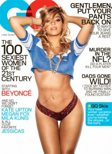 Beyonce' Covers GQ's February 2013 Issue