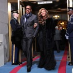 Beyonce Sings the National Anthem at The Presidential Inauguration