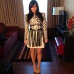 Instagram Pretty: Kim Kardashian Wearing Fausto Puglisi