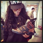 Teyana Taylor Hits The Galleria In Houston to Launch New Adidas Sneakers