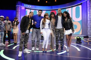 The Cast of 'The Game' Stops By 106&Park