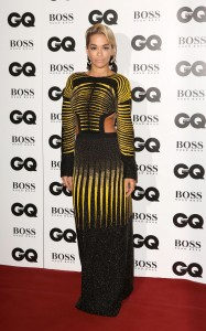 Rita Ora,Jourdan Dunn,and Emma Watson at The 2013 GQ Men of The Year Awards