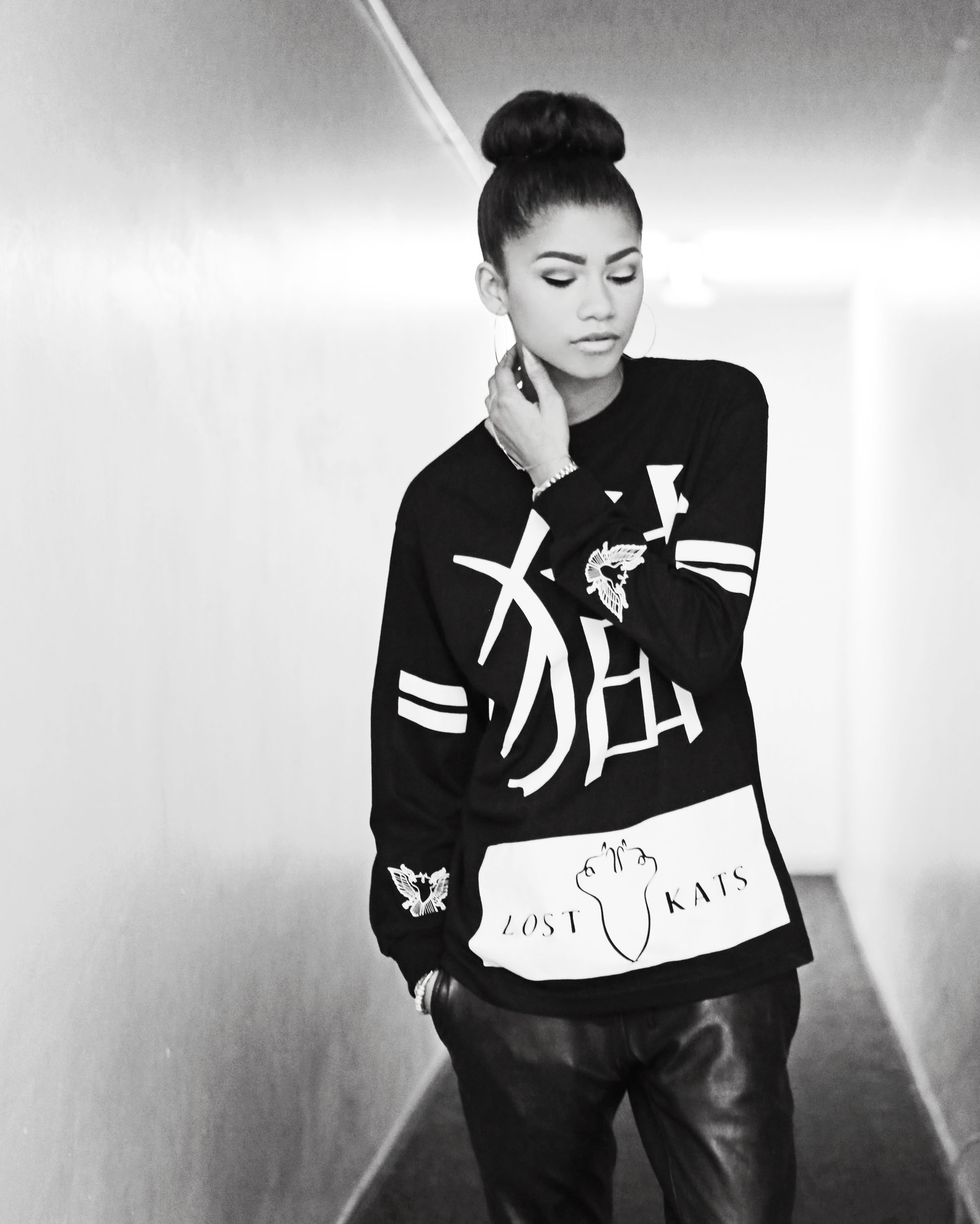 Photo Shoot Pretty  Zendaya Coleman Poses For Lost Kats 2013 LookbookZendaya 2013 Photoshoot