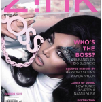 Tyra Banks on The Cover of Zink Magazine