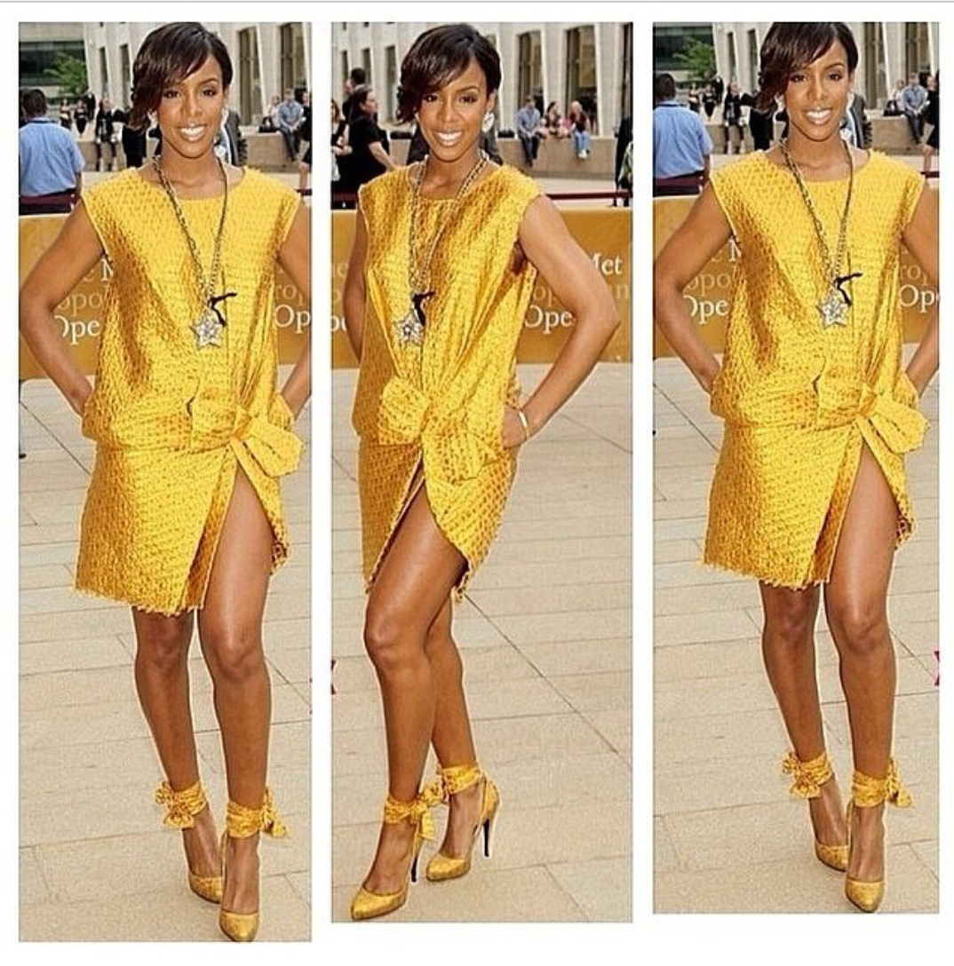 Kelly-Rowland-gold-dress-2014