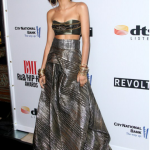 Love it…or Leave it?? Zendaya Coleman's Rubin Singer Knotted Rope Bandeau top and Rope Brocade Skirt