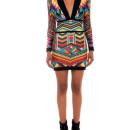 Balmain-geometric-printed-dress-lala-2